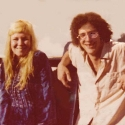 Sandy Denny, my hero, and Dave Soldier (at age 16)